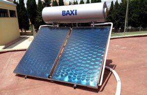 instlación solar térmica polideportivo