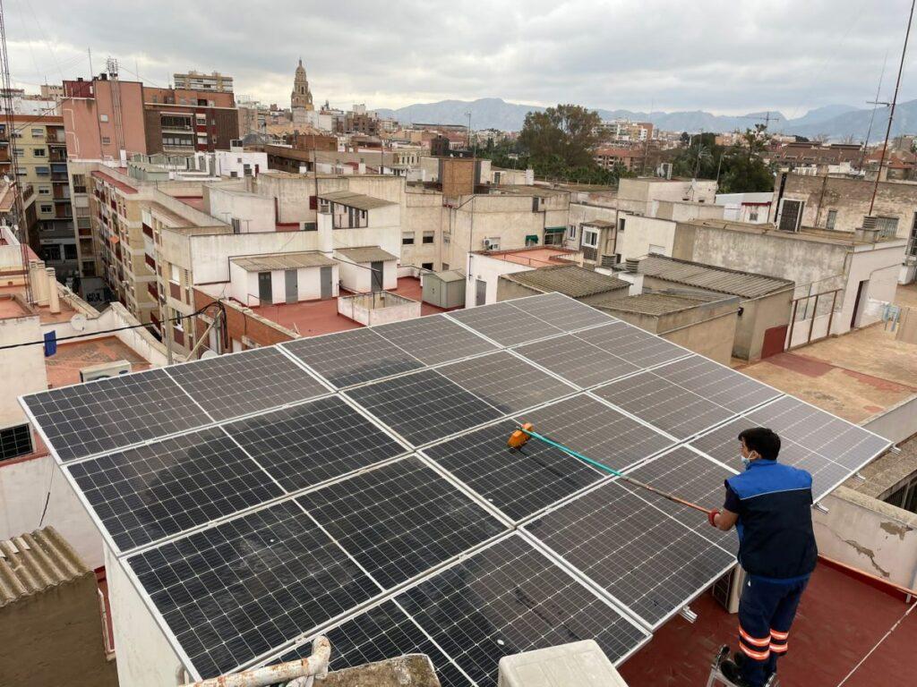 Mantenimiento de instalaciones fotovoltaicas