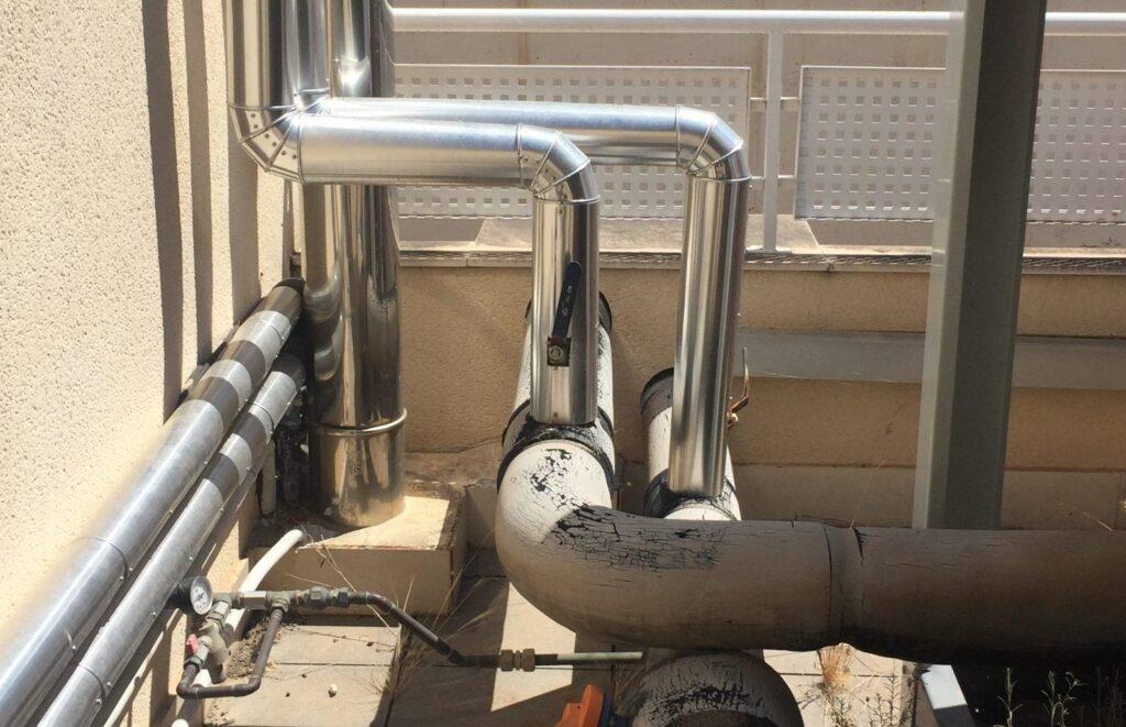 mantenimiento de climatización institutos