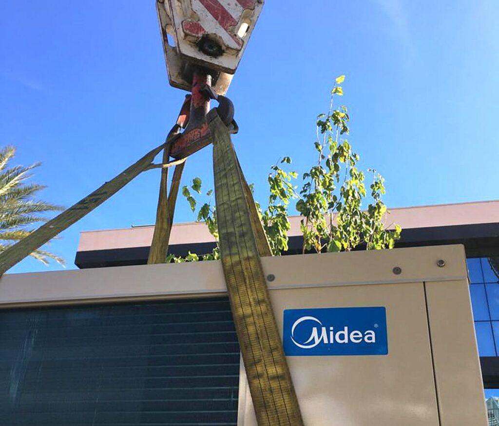 mantenimiento de equipos de climatización