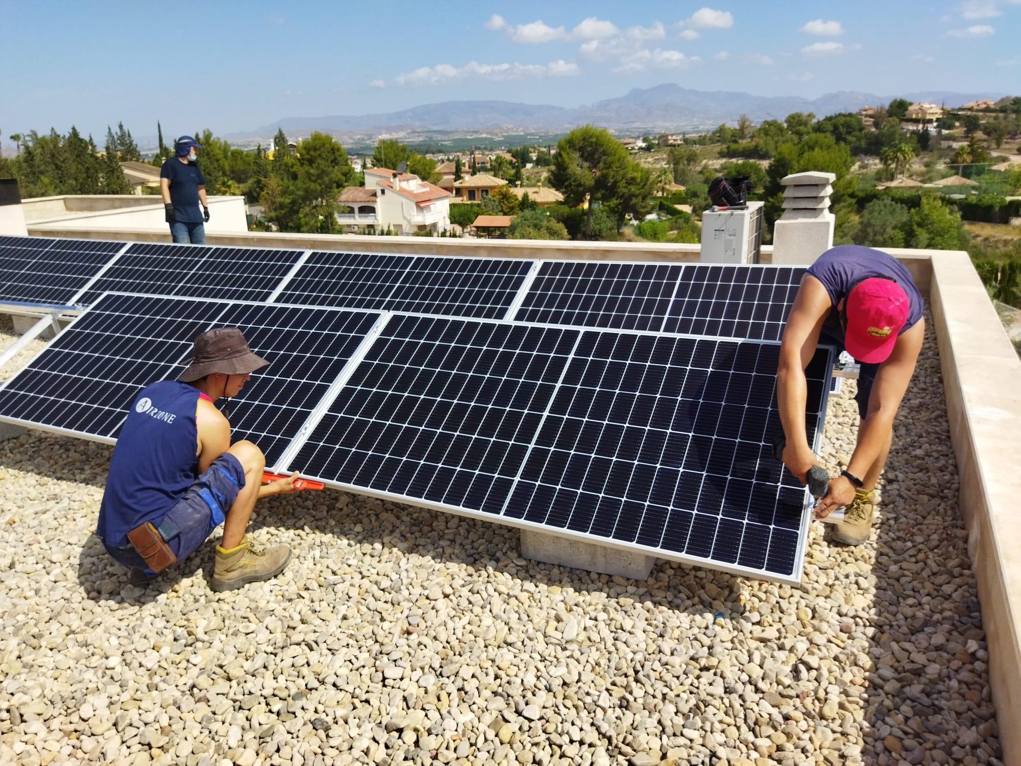 Estudio de producción fotovoltaica para autoconsumo