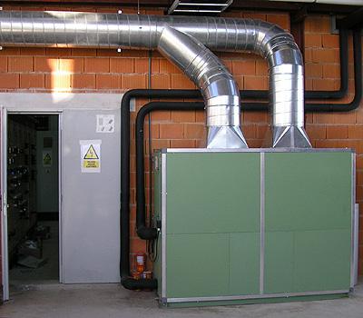Sistemas de ventilación