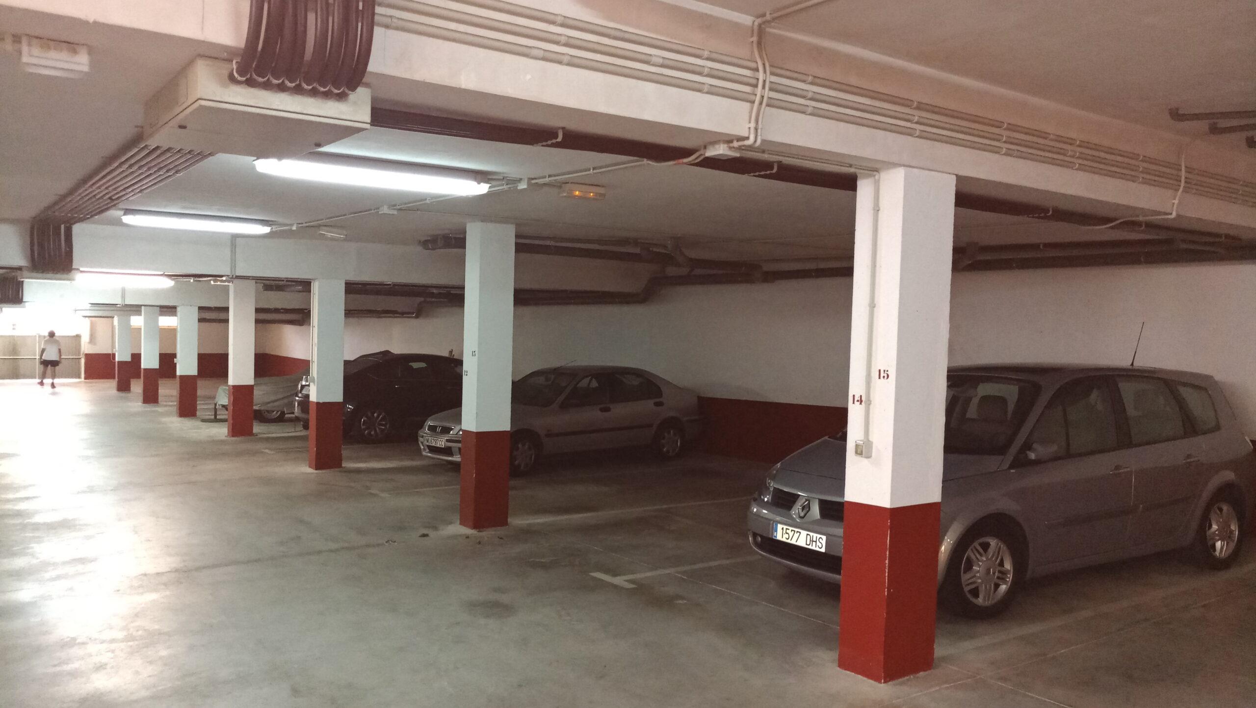 Ventilación garajes